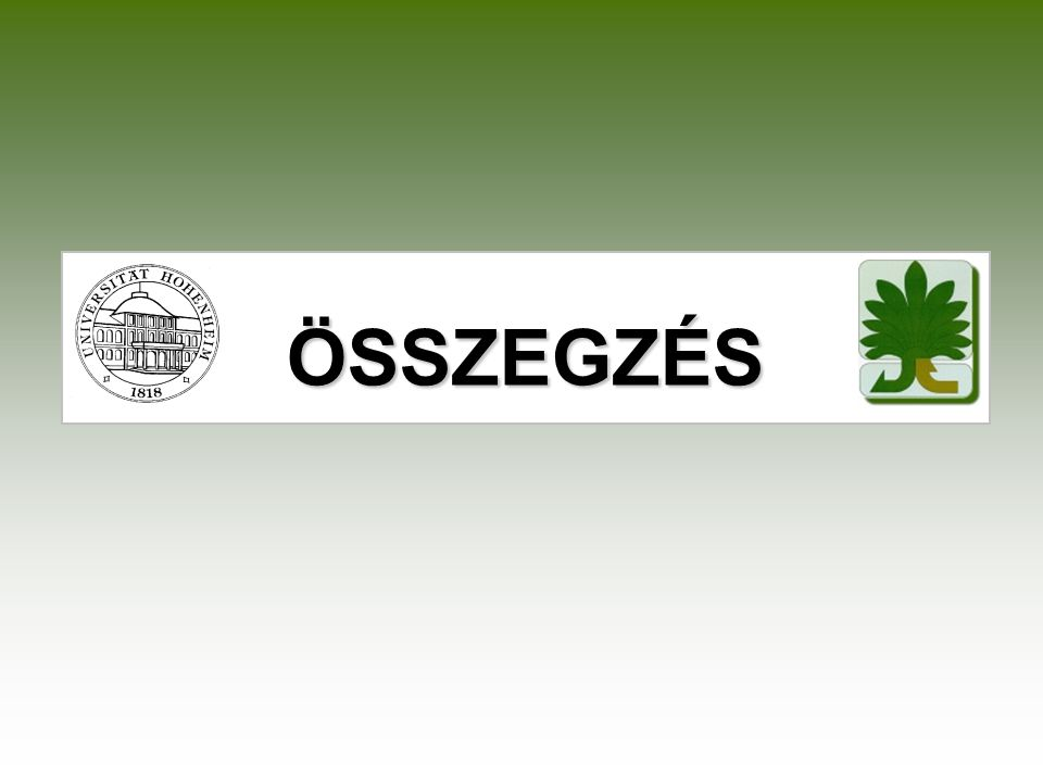 ÖSSZEGZÉS Contradictionary definitions