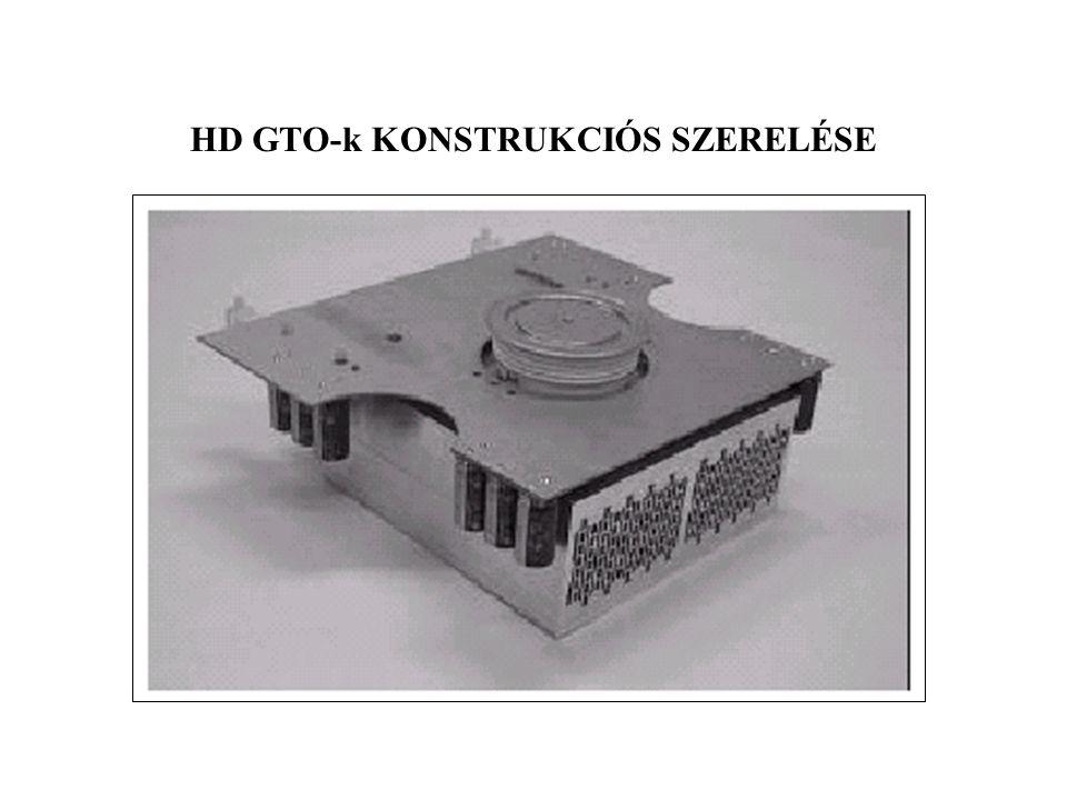 HD GTO-k KONSTRUKCIÓS SZERELÉSE