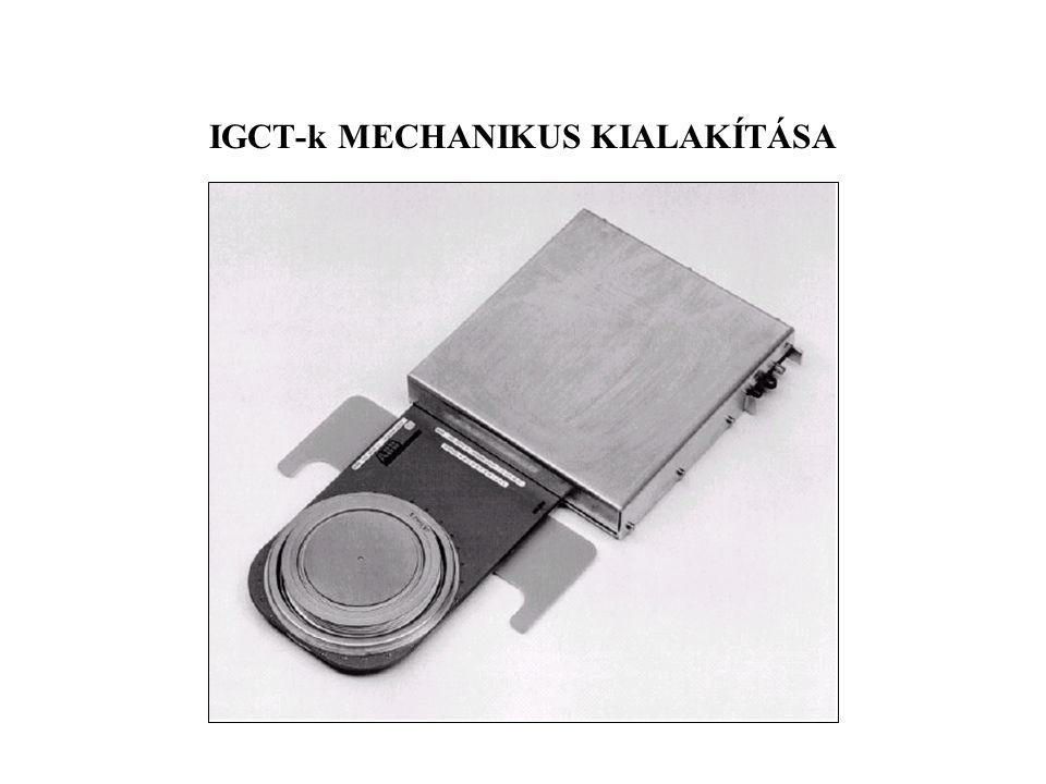 IGCT-k MECHANIKUS KIALAKÍTÁSA