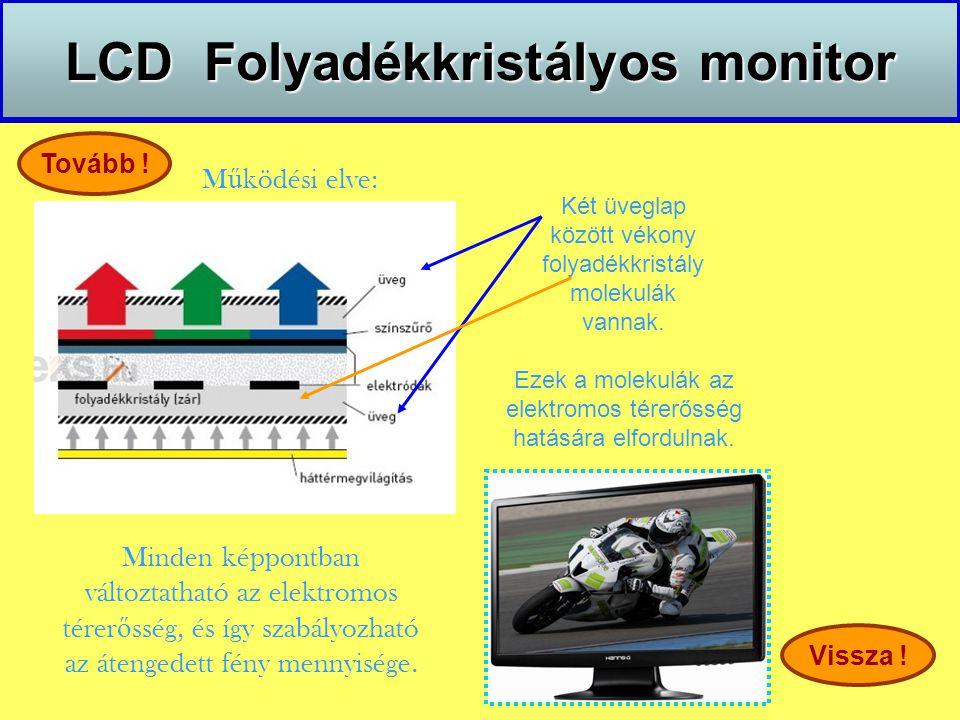 LCD Folyadékkristályos monitor