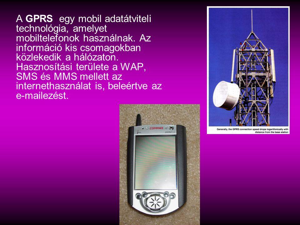 A GPRS egy mobil adatátviteli technológia, amelyet mobiltelefonok használnak.
