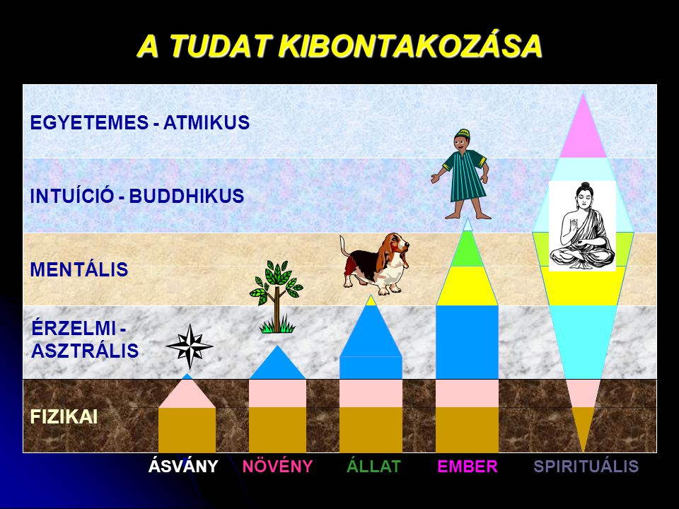 A TUDAT KIBONTAKOZÁSA EGYETEMES - ATMIKUS INTUÍCIÓ - BUDDHIKUS