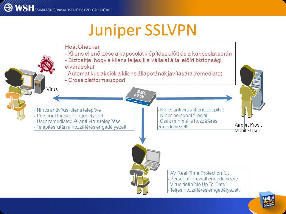 Juniper SSLVPN Host Checker