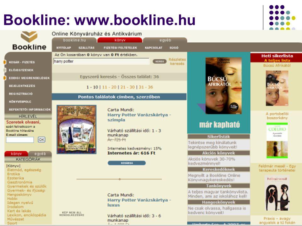 Bookline: www.bookline.hu