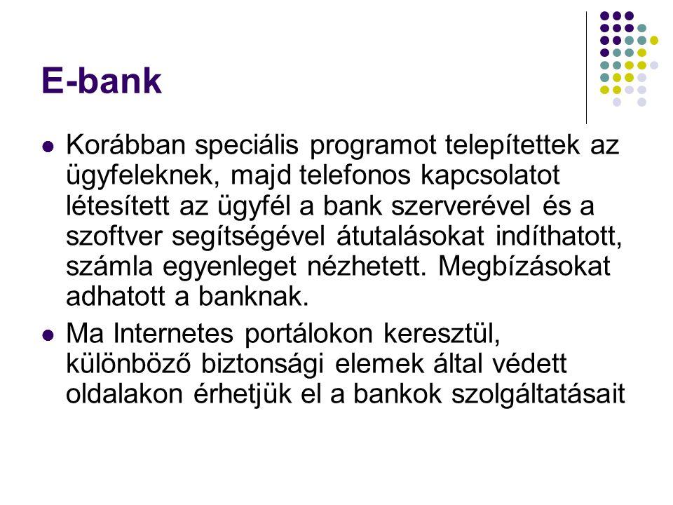 E-bank