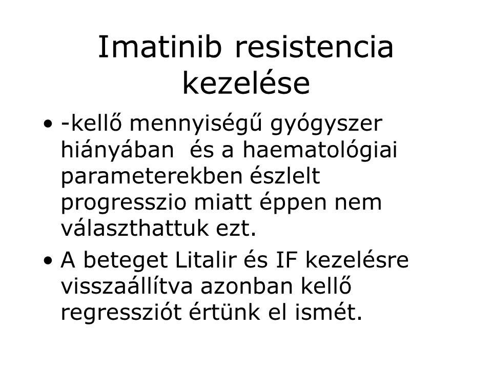 Imatinib resistencia kezelése