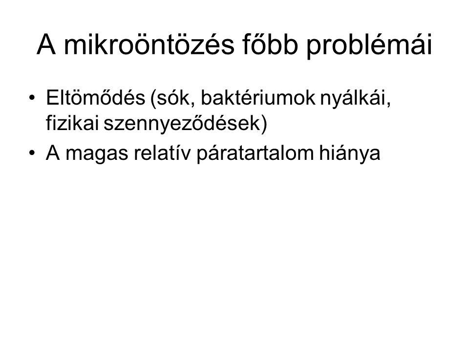 A mikroöntözés főbb problémái