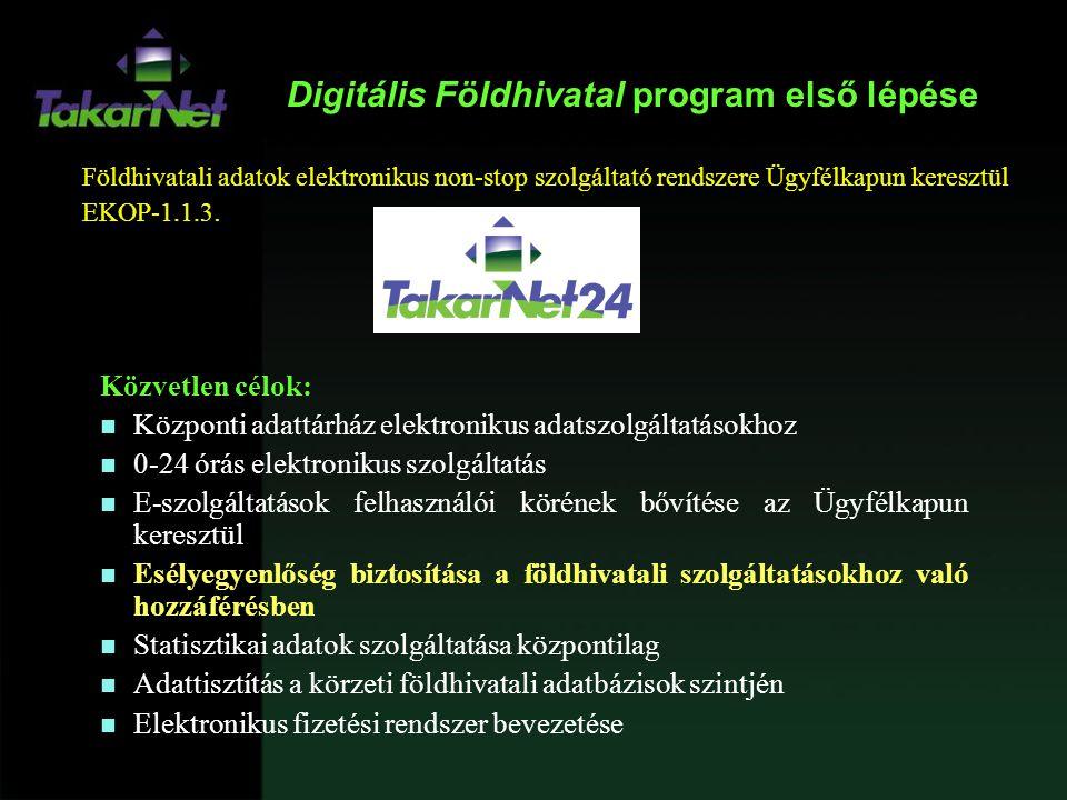 Digitális Földhivatal program első lépése