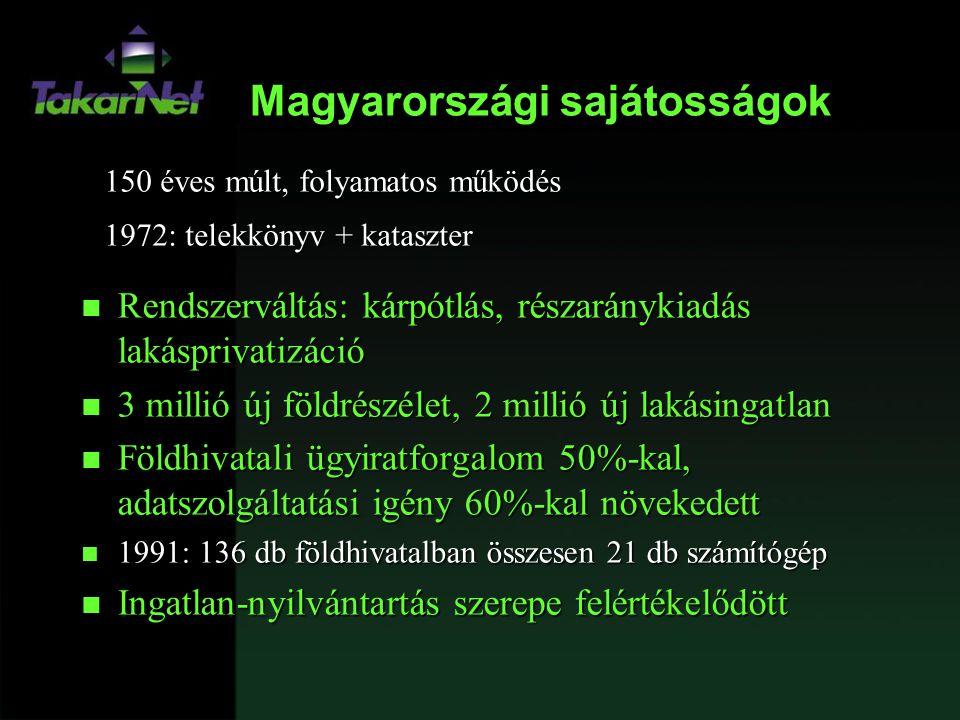 Magyarországi sajátosságok
