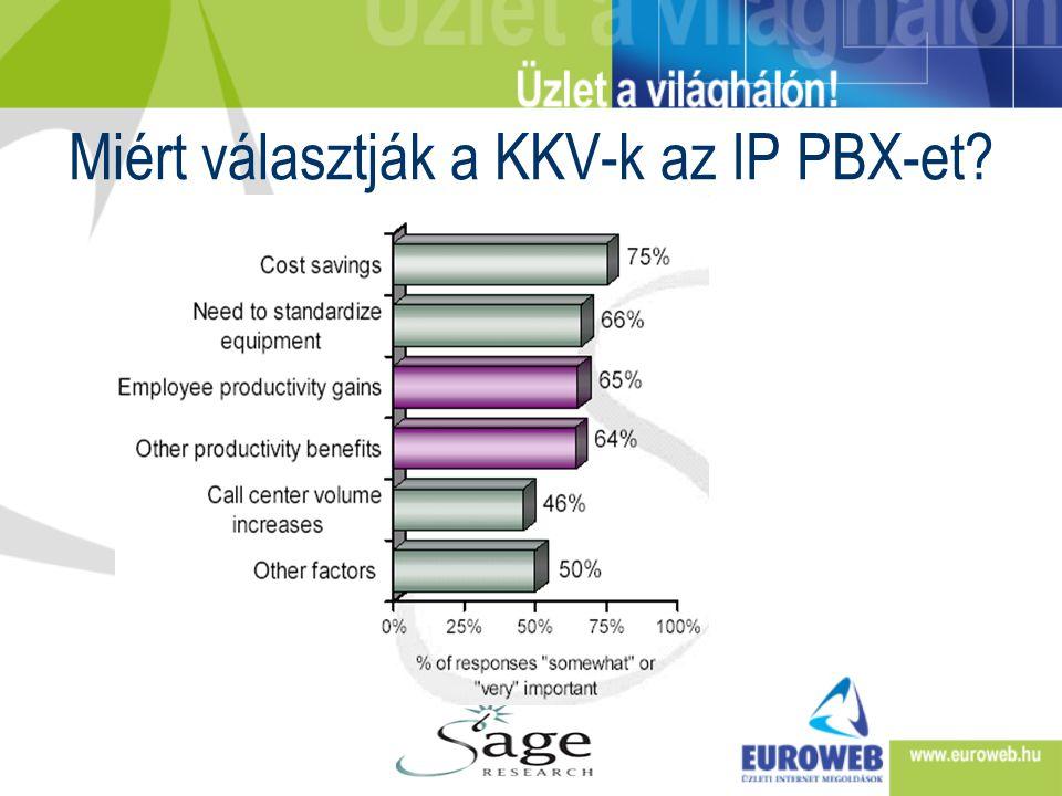 Miért választják a KKV-k az IP PBX-et
