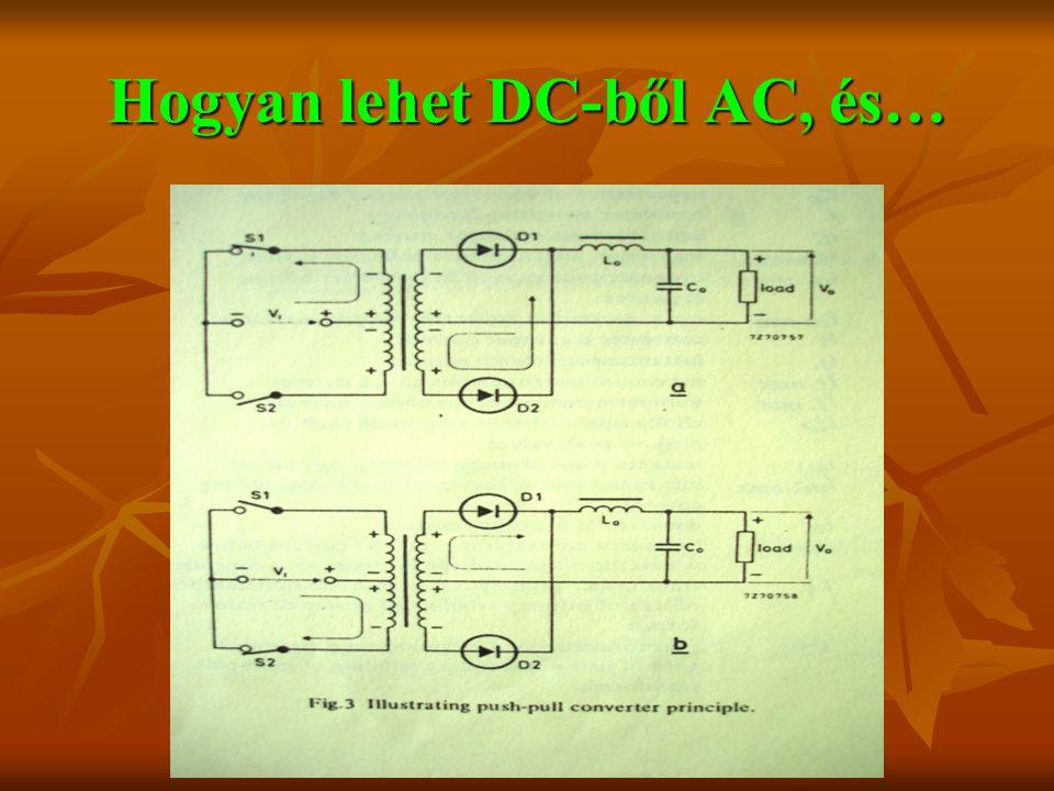 Hogyan lehet DC-ből AC, és…