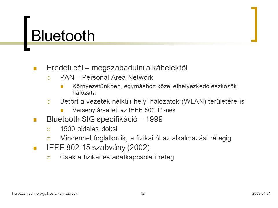 Bluetooth Eredeti cél – megszabadulni a kábelektől