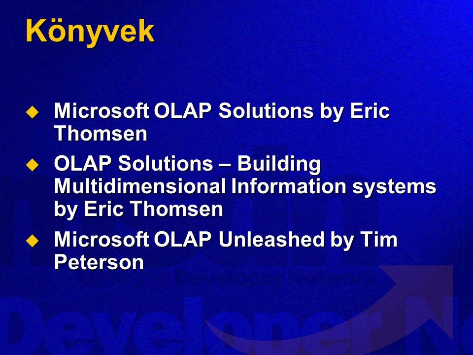 Könyvek Microsoft OLAP Solutions by Eric Thomsen
