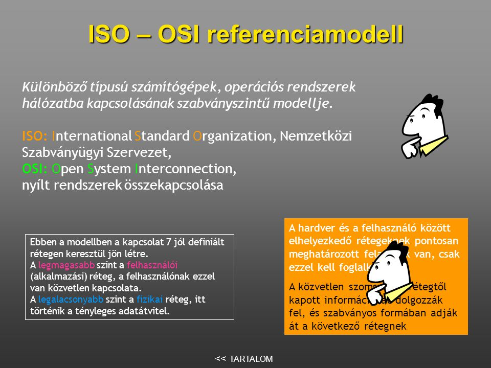 ISO – OSI referenciamodell