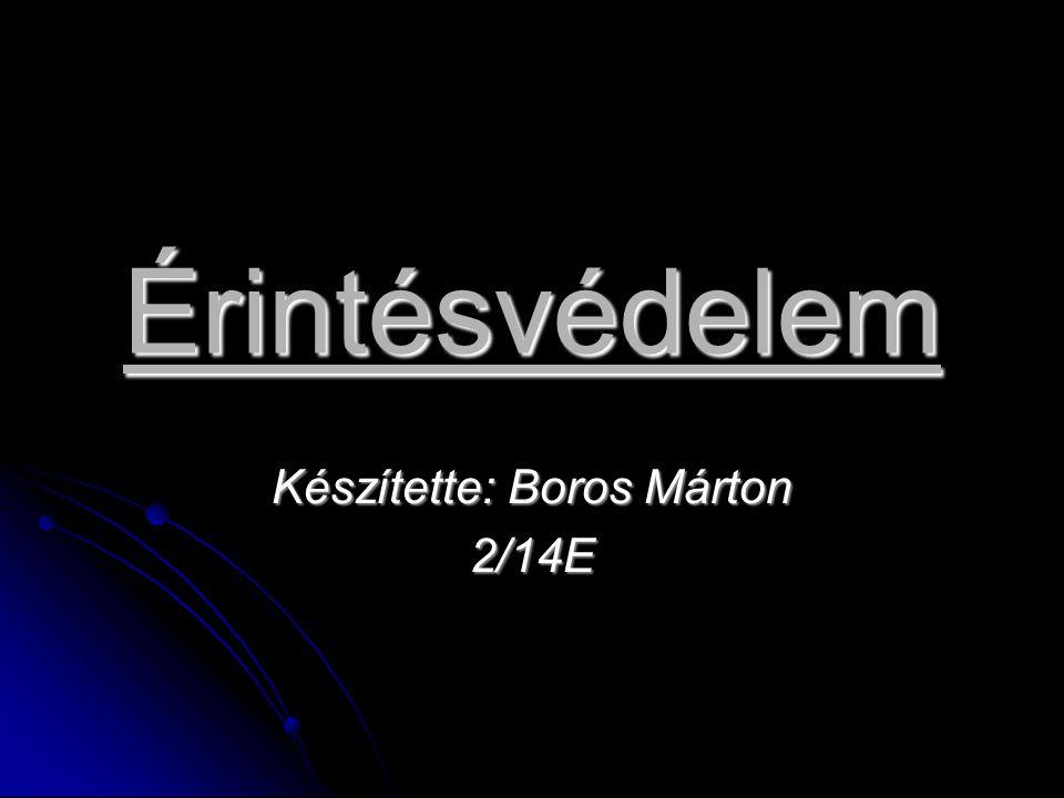 Készítette: Boros Márton 2/14E