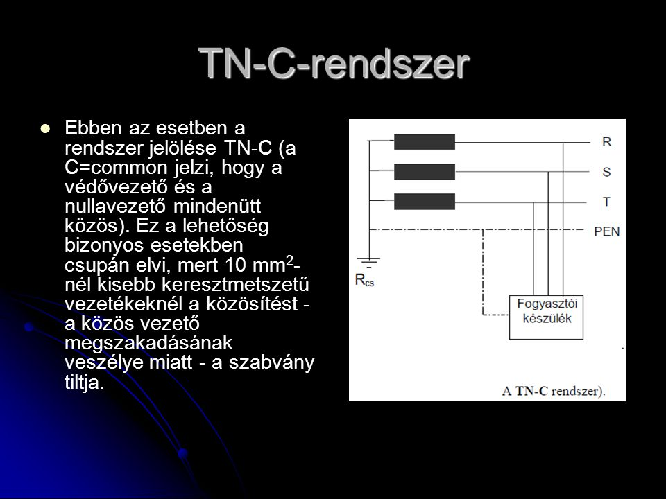 TN-C-rendszer