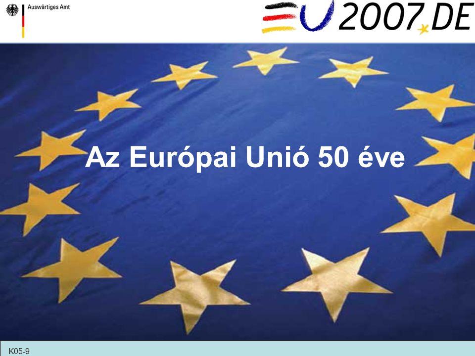 Az Európai Unió 50 éve K05-9