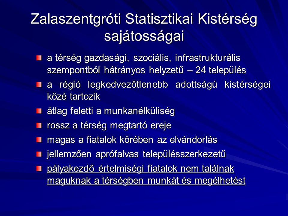 Zalaszentgróti Statisztikai Kistérség sajátosságai