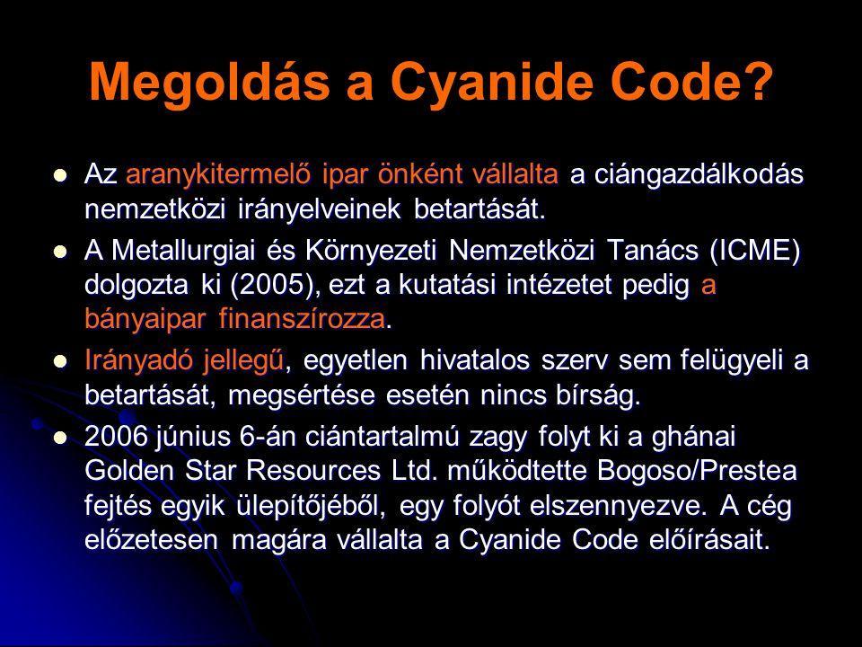 Megoldás a Cyanide Code