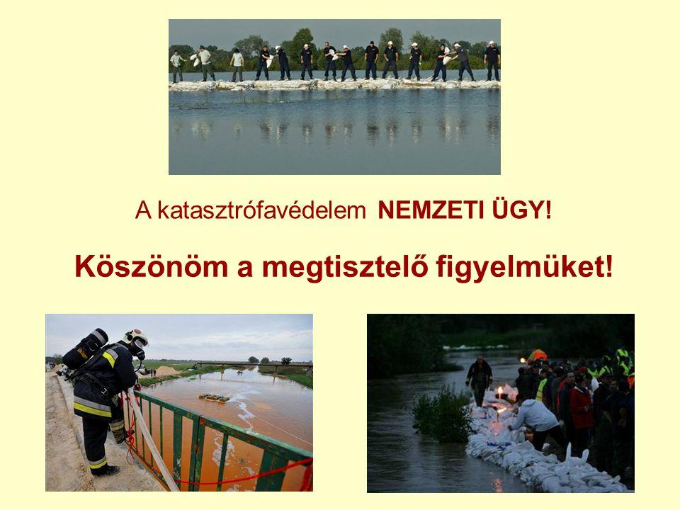 A katasztrófavédelem NEMZETI ÜGY!