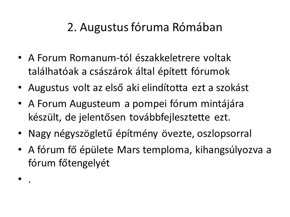 2. Augustus fóruma Rómában