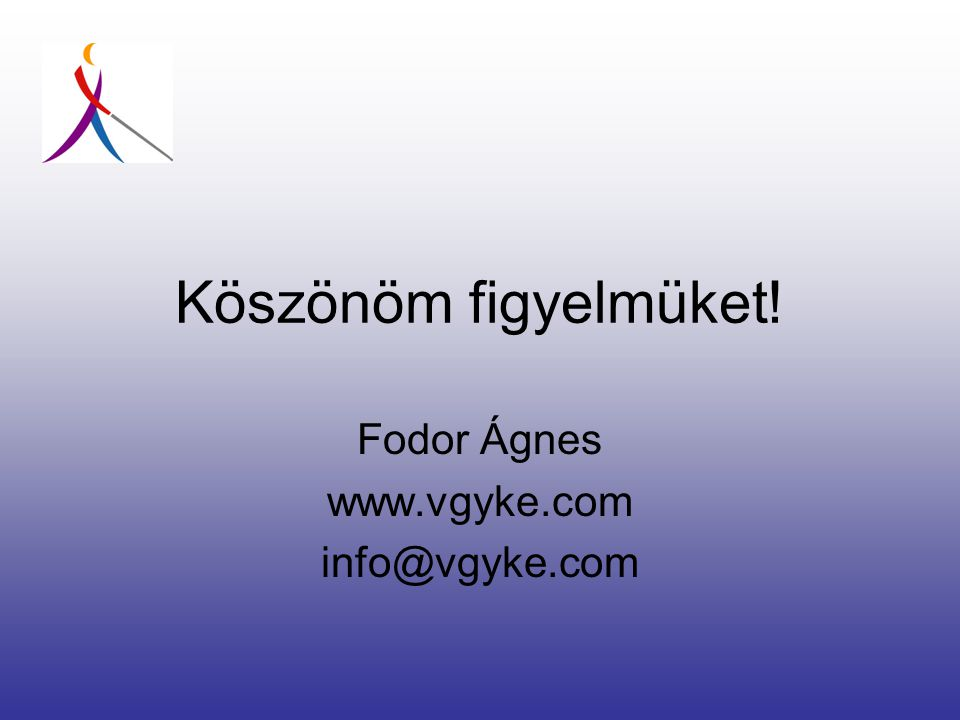Fodor Ágnes www.vgyke.com info@vgyke.com