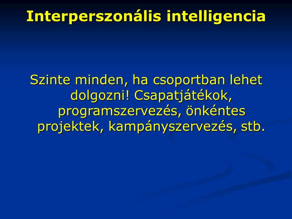 Interperszonális intelligencia