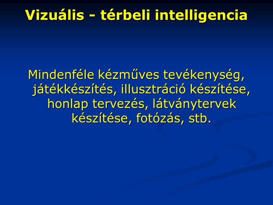 Vizuális - térbeli intelligencia