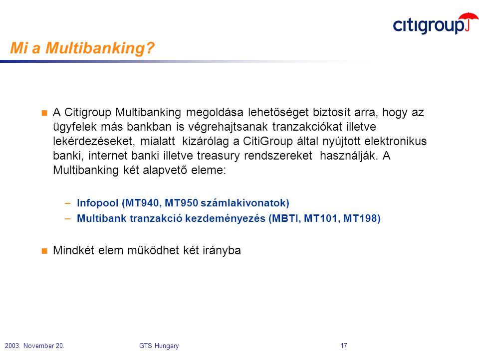 Mi a Multibanking