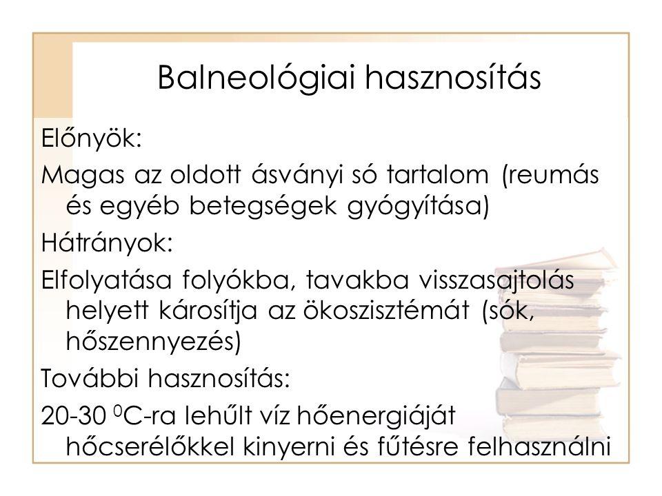Balneológiai hasznosítás