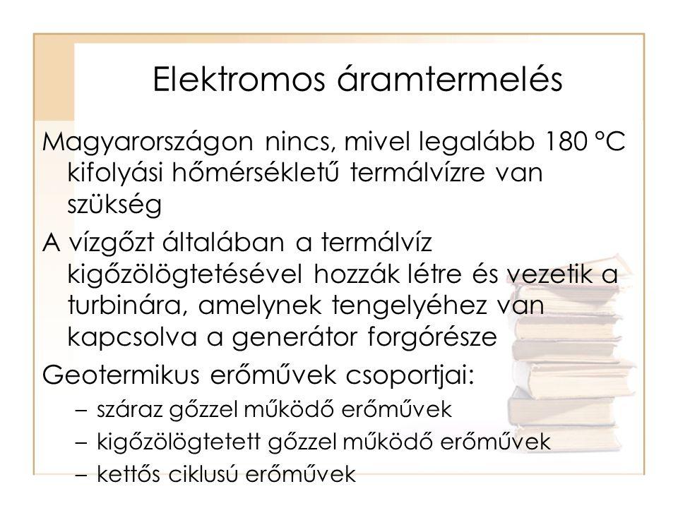 Elektromos áramtermelés