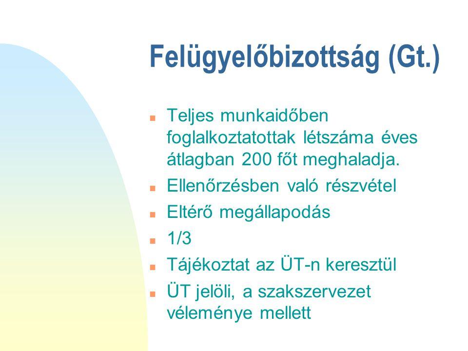 Felügyelőbizottság (Gt.)