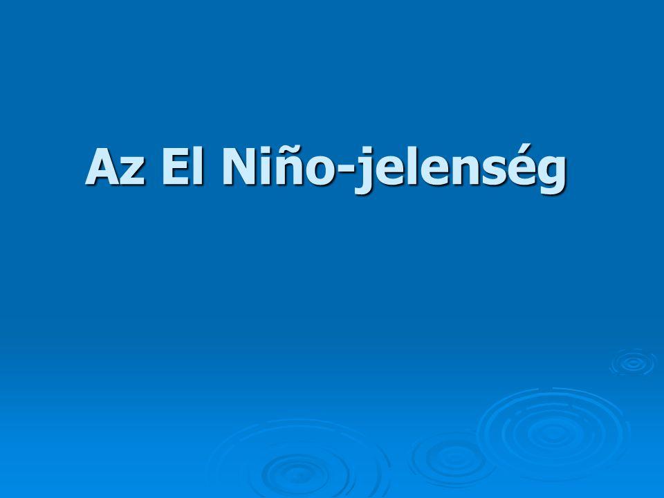 Az El Niño-jelenség