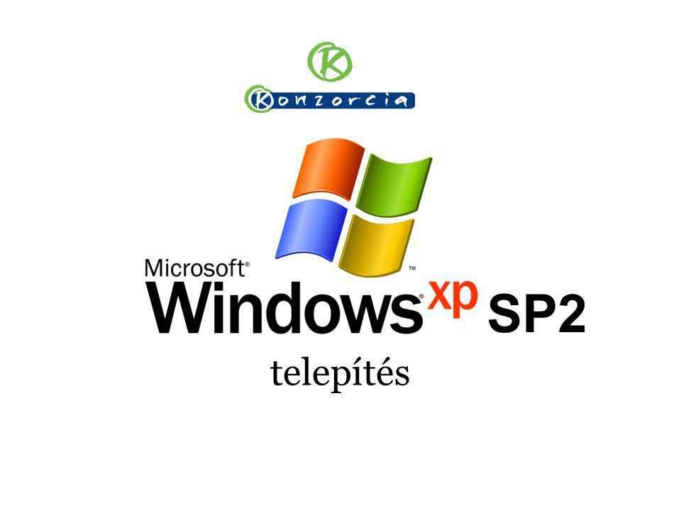 SP2 telepítés