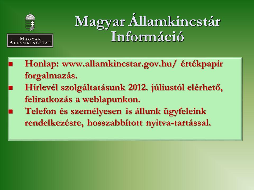 Magyar Államkincstár Információ