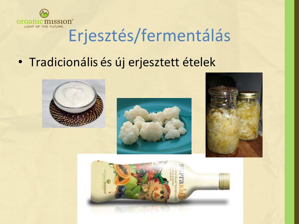 Erjesztés/fermentálás