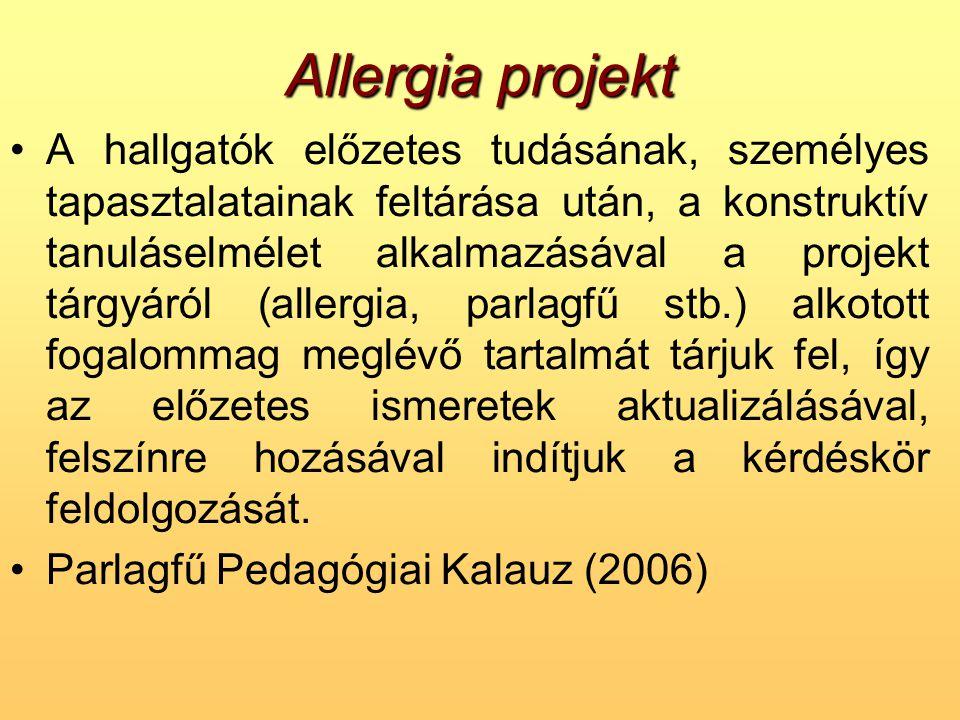 Allergia projekt