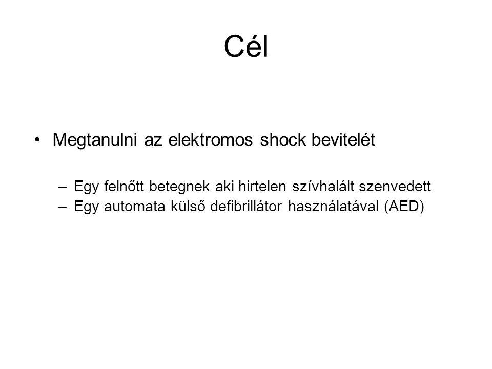 Cél Megtanulni az elektromos shock bevitelét