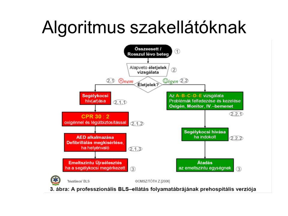 Algoritmus szakellátóknak