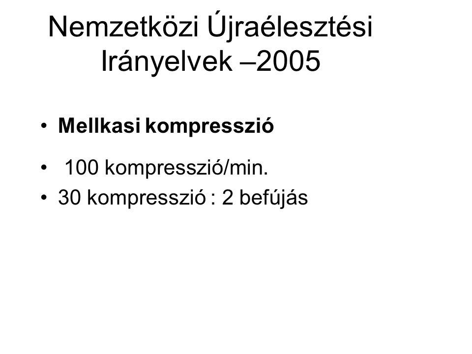 Nemzetközi Újraélesztési Irányelvek –2005