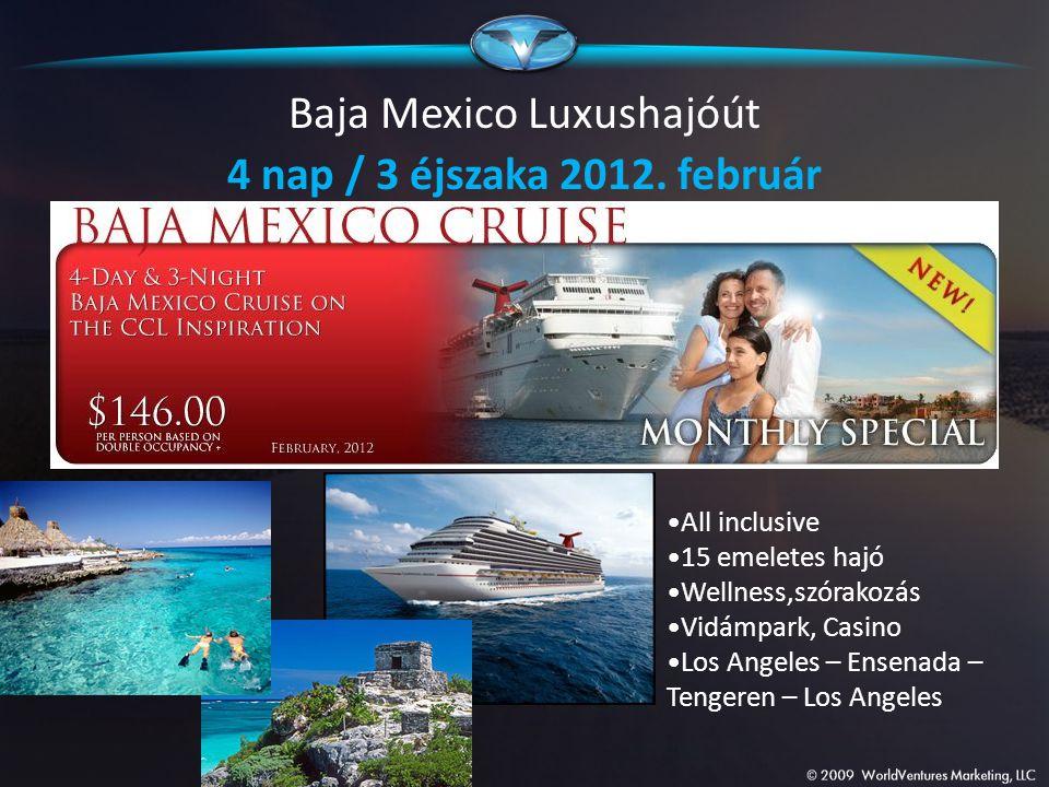 Baja Mexico Luxushajóút