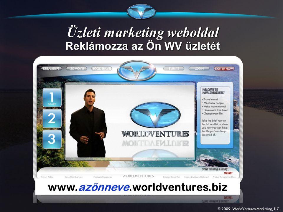 Üzleti marketing weboldal Reklámozza az Ön WV üzletét