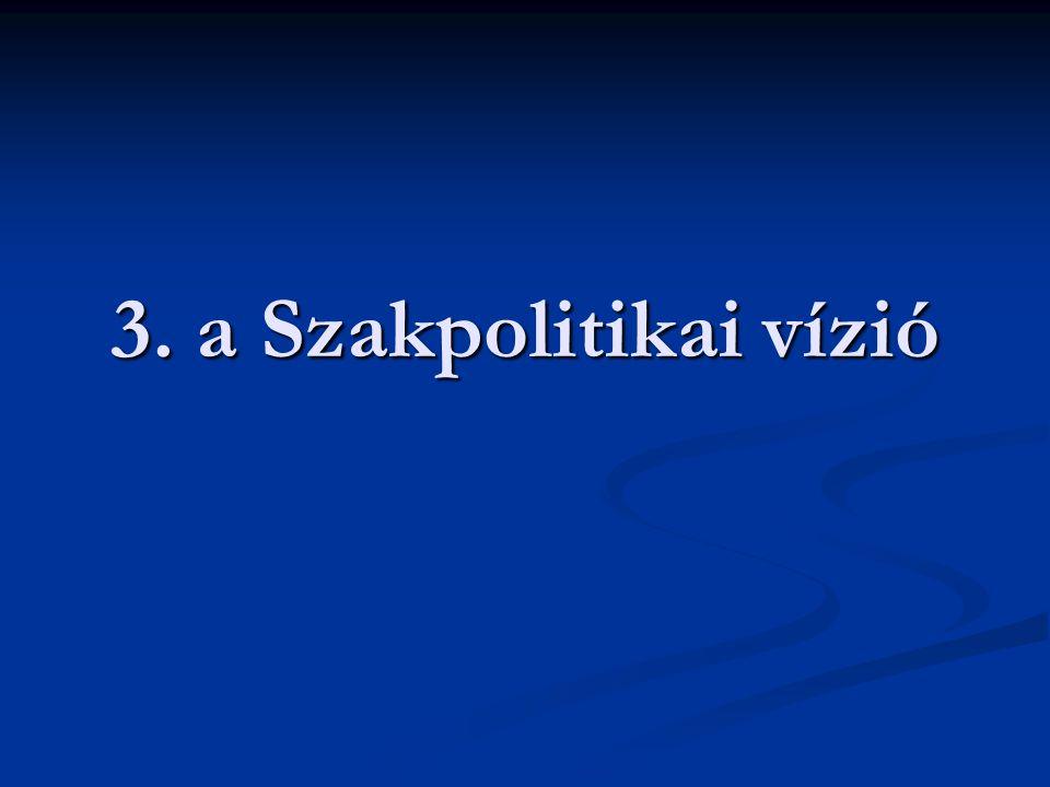 3. a Szakpolitikai vízió