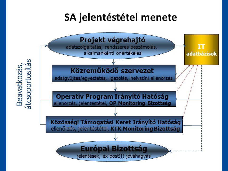 SA jelentéstétel menete