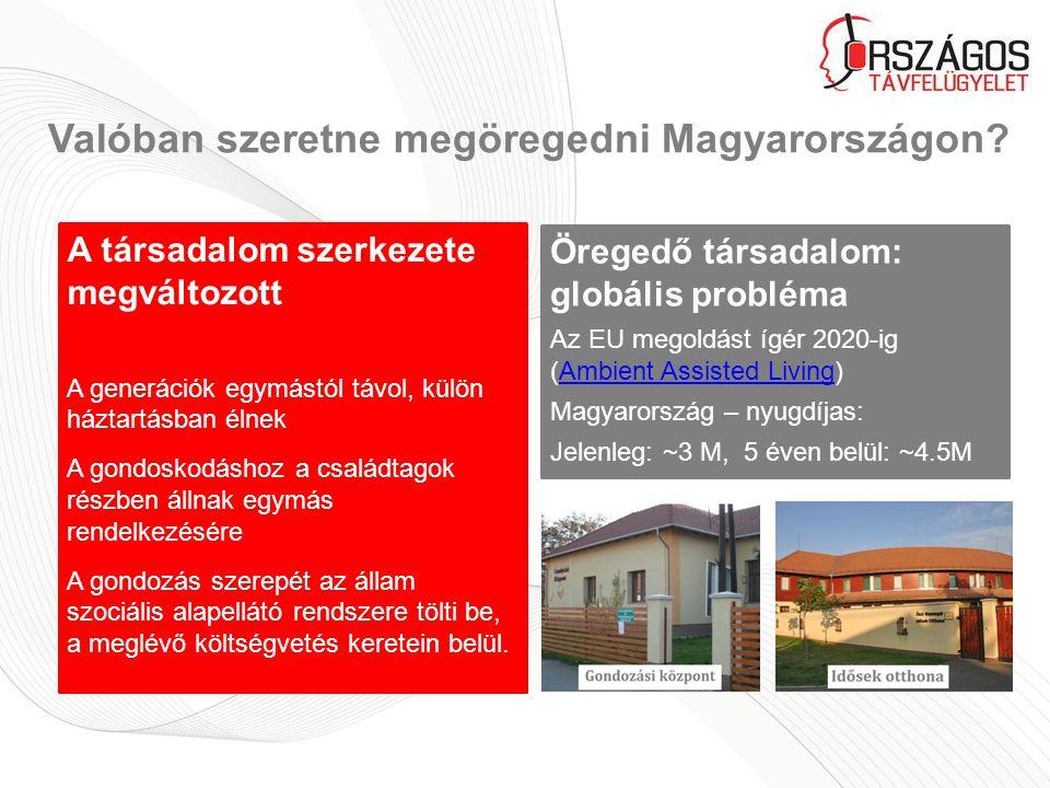 Valóban szeretne megöregedni Magyarországon