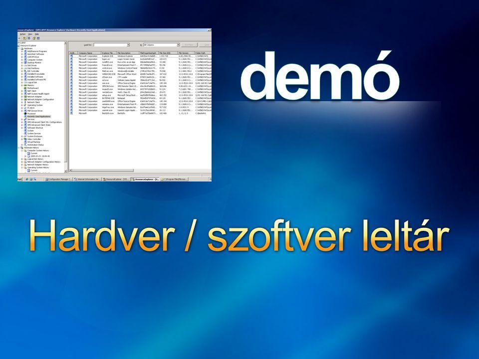 Hardver / szoftver leltár