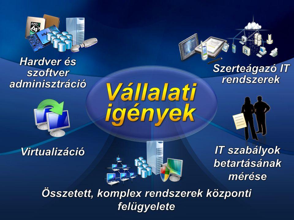 Vállalati igények Hardver és szoftver adminisztráció