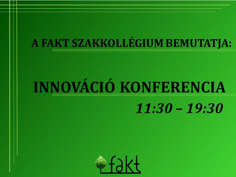 Innováció konferencia