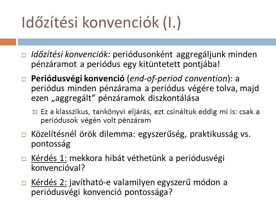 Időzítési konvenciók (I.)