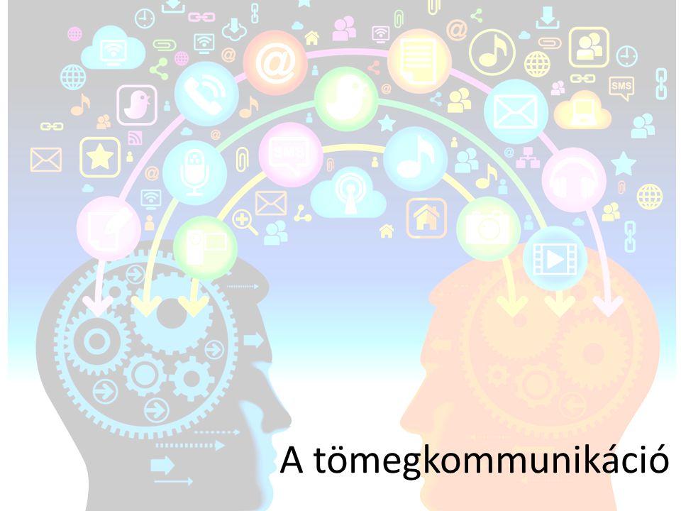 A tömegkommunikáció
